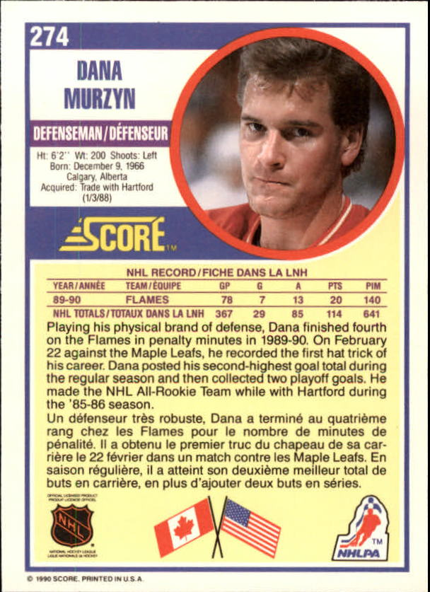 1990-91-Score-Canadian-Hockey-Cards-263-440-Pick-From-List miniature 25