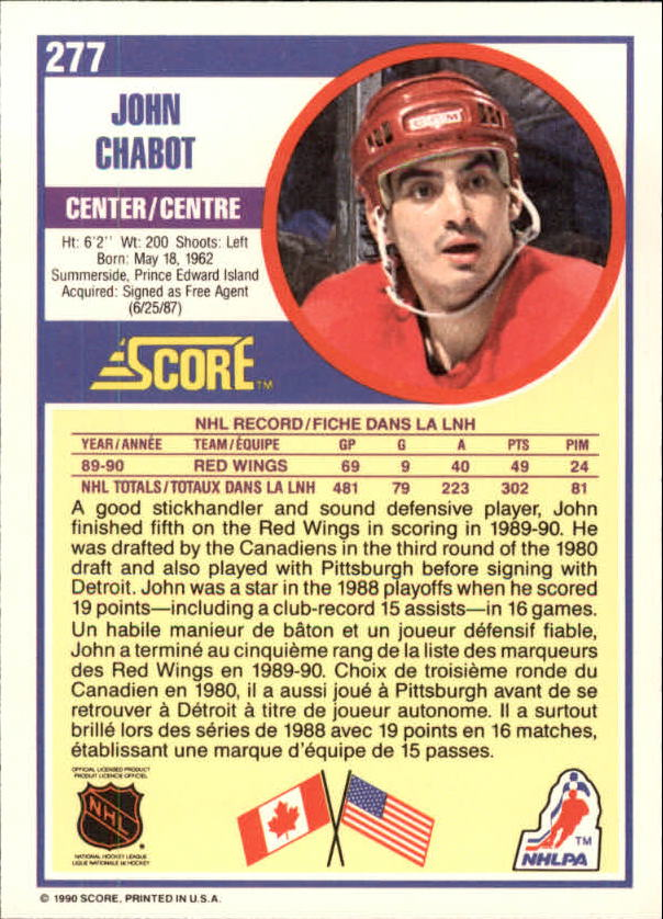 1990-91-Score-Canadian-Hockey-Cards-263-440-Pick-From-List miniature 31