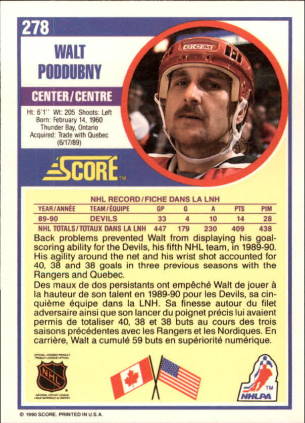1990-91-Score-Canadian-Hockey-Cards-263-440-Pick-From-List miniature 33