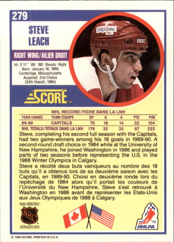 1990-91-Score-Canadian-Hockey-Cards-263-440-Pick-From-List miniature 35