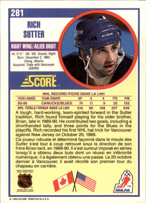 1990-91-Score-Canadian-Hockey-Cards-263-440-Pick-From-List miniature 39