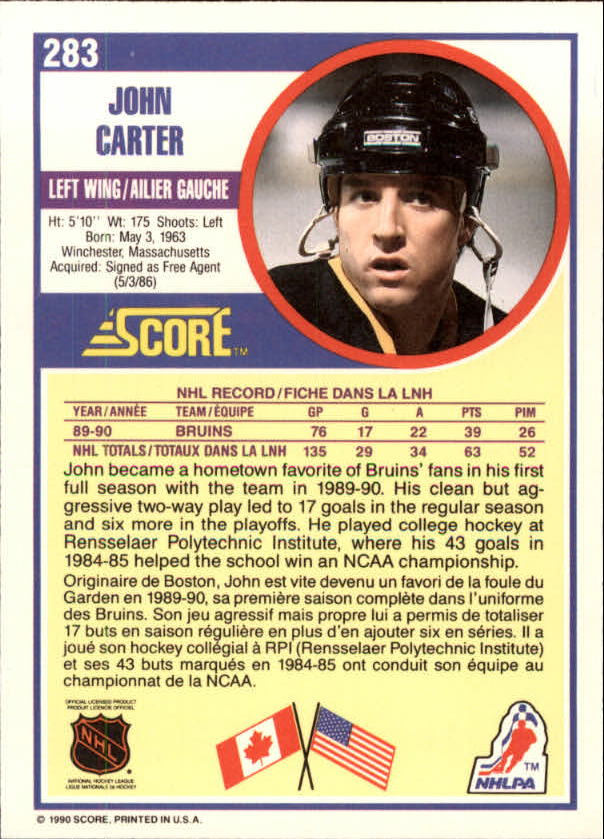 1990-91-Score-Canadian-Hockey-Cards-263-440-Pick-From-List miniature 43