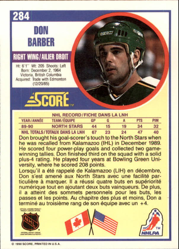 1990-91-Score-Canadian-Hockey-Cards-263-440-Pick-From-List miniature 45