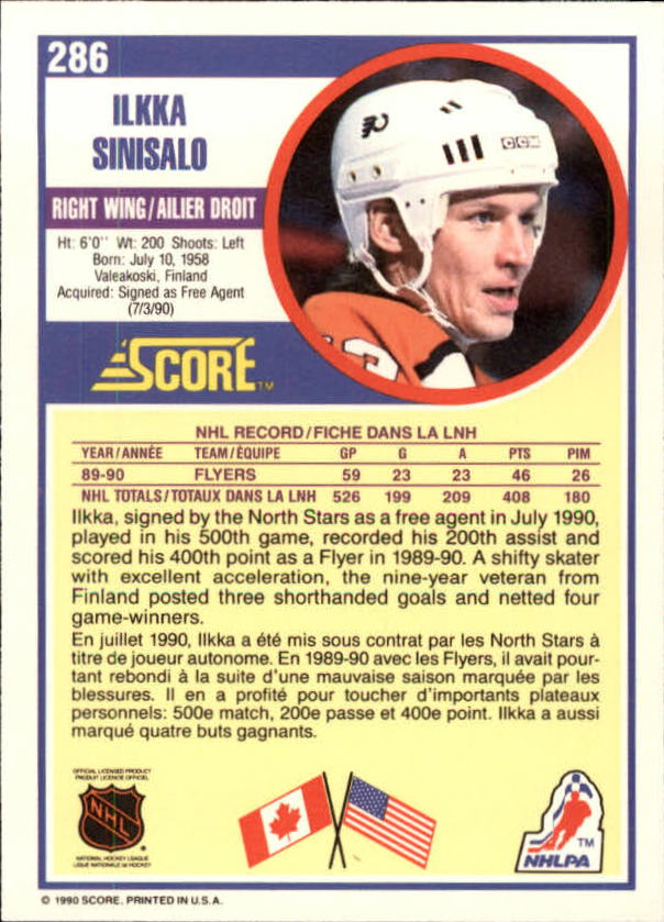 1990-91-Score-Canadian-Hockey-Cards-263-440-Pick-From-List miniature 49