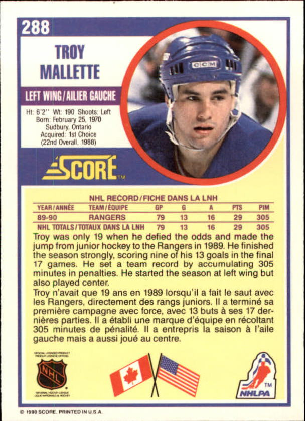 1990-91-Score-Canadian-Hockey-Cards-263-440-Pick-From-List miniature 53