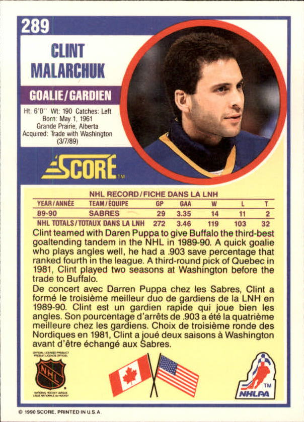 1990-91-Score-Canadian-Hockey-Cards-263-440-Pick-From-List miniature 55