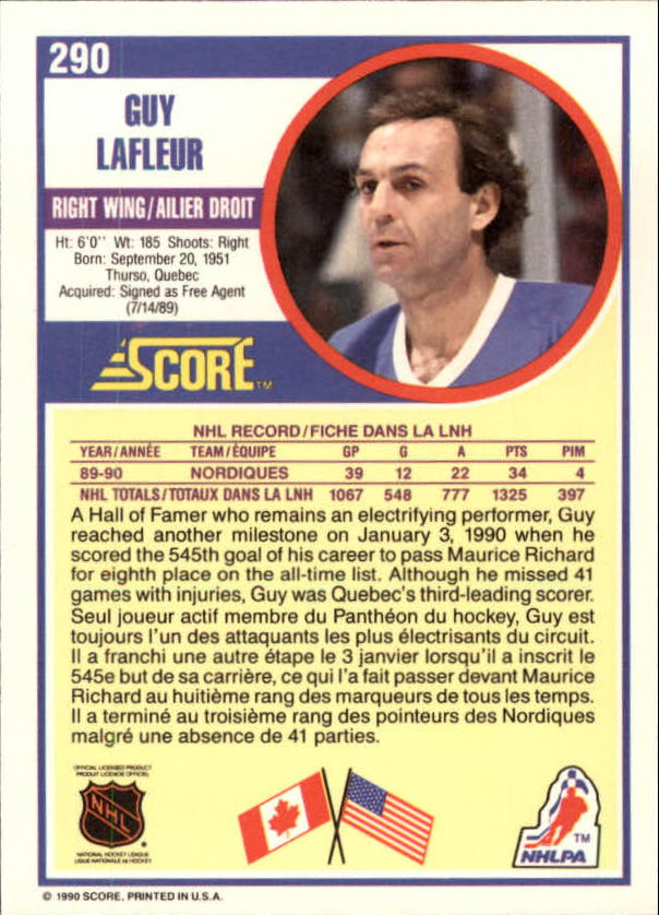 1990-91-Score-Canadian-Hockey-Cards-263-440-Pick-From-List miniature 57