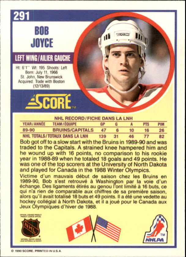 1990-91-Score-Canadian-Hockey-Cards-263-440-Pick-From-List miniature 59