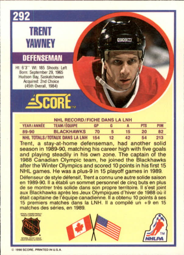 1990-91-Score-Canadian-Hockey-Cards-263-440-Pick-From-List miniature 61