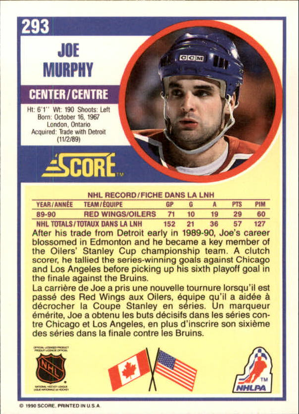 1990-91-Score-Canadian-Hockey-Cards-263-440-Pick-From-List miniature 63