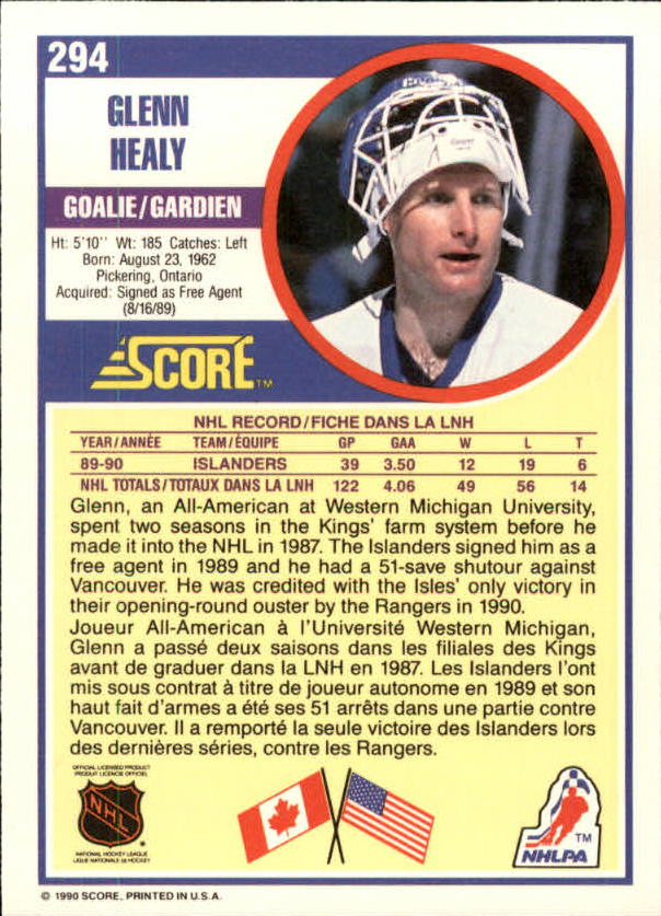 1990-91-Score-Canadian-Hockey-Cards-263-440-Pick-From-List miniature 65