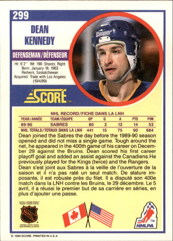 1990-91-Score-Canadian-Hockey-Cards-263-440-Pick-From-List miniature 75