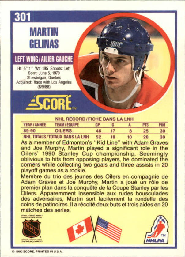 1990-91-Score-Canadian-Hockey-Cards-263-440-Pick-From-List miniature 79