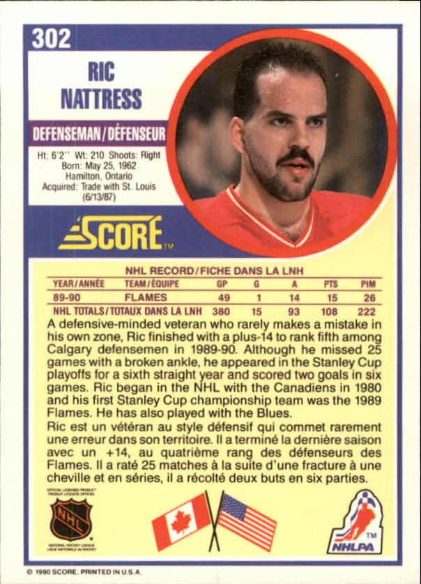 1990-91-Score-Canadian-Hockey-Cards-263-440-Pick-From-List miniature 81