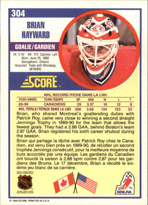 1990-91-Score-Canadian-Hockey-Cards-263-440-Pick-From-List miniature 85