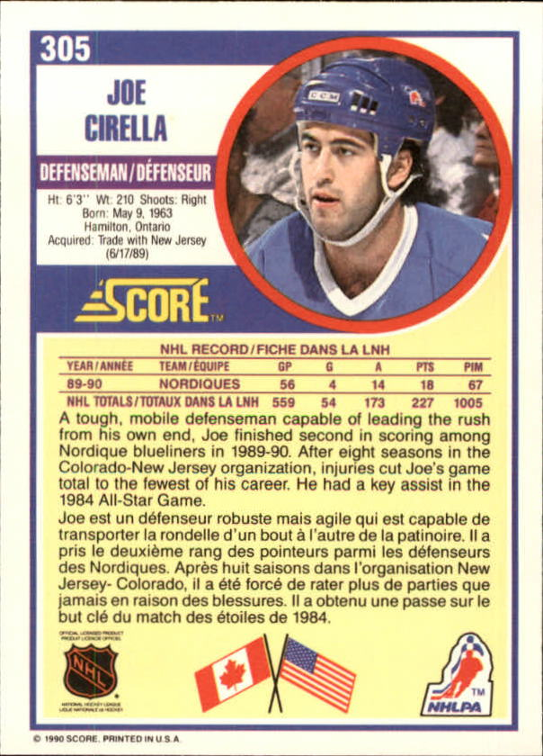 1990-91-Score-Canadian-Hockey-Cards-263-440-Pick-From-List miniature 87