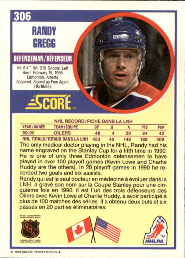 1990-91-Score-Canadian-Hockey-Cards-263-440-Pick-From-List miniature 89