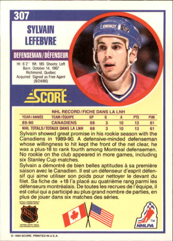 1990-91-Score-Canadian-Hockey-Cards-263-440-Pick-From-List miniature 91