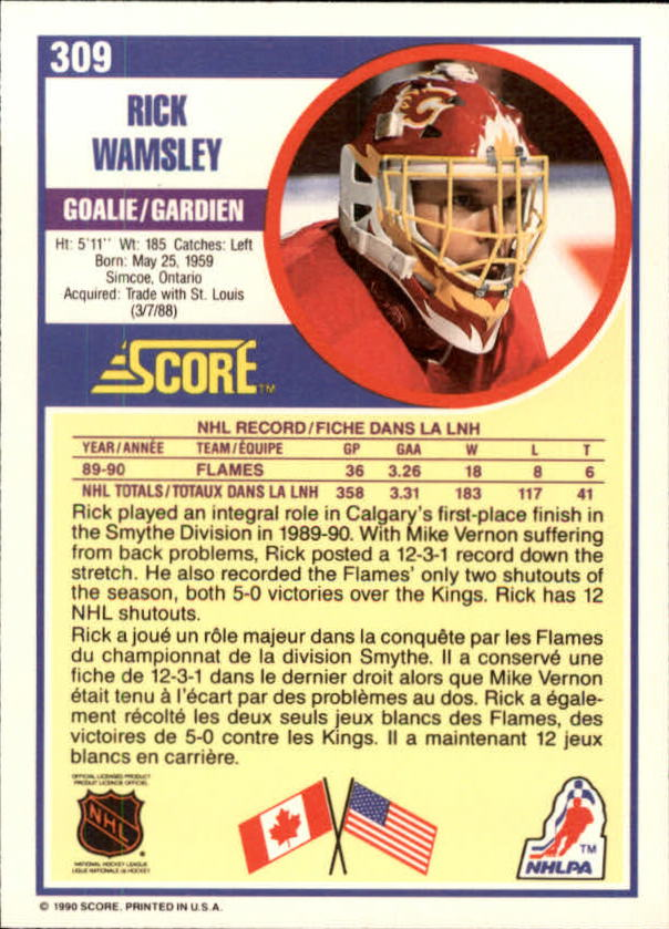 1990-91-Score-Canadian-Hockey-Cards-263-440-Pick-From-List miniature 95
