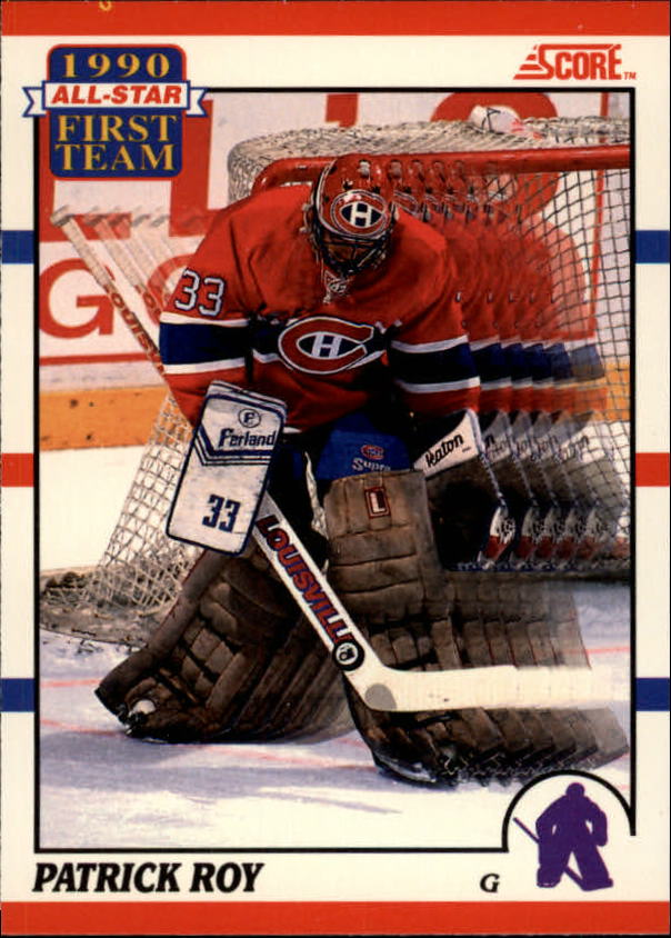 1990-91 Score Canadian #312 Patrick Roy AS1