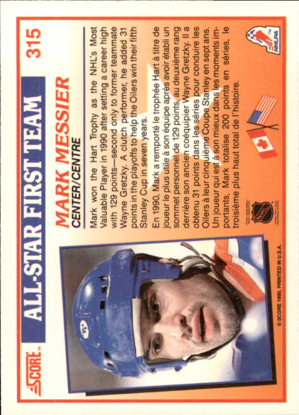 1990-91-Score-Canadian-Hockey-Cards-263-440-Pick-From-List miniature 105