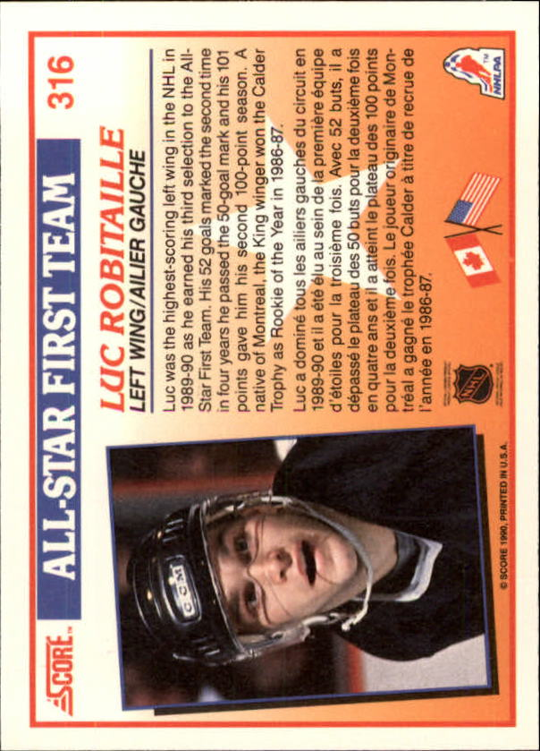 1990-91-Score-Canadian-Hockey-Cards-263-440-Pick-From-List miniature 107