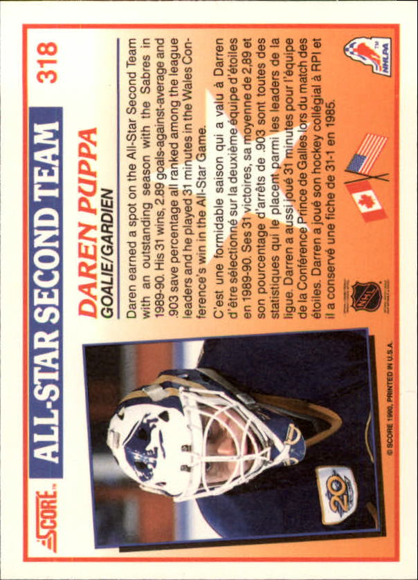 1990-91-Score-Canadian-Hockey-Cards-263-440-Pick-From-List miniature 111