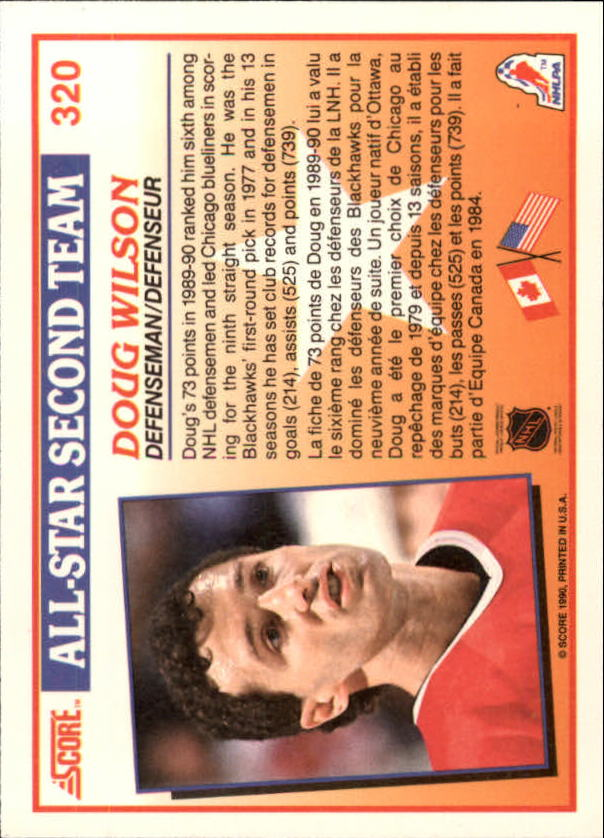 1990-91-Score-Canadian-Hockey-Cards-263-440-Pick-From-List miniature 115