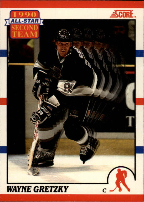 1990-91 Score Canadian #321 Wayne Gretzky AS2