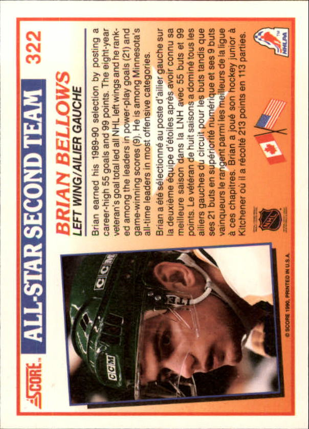 1990-91-Score-Canadian-Hockey-Cards-263-440-Pick-From-List miniature 119