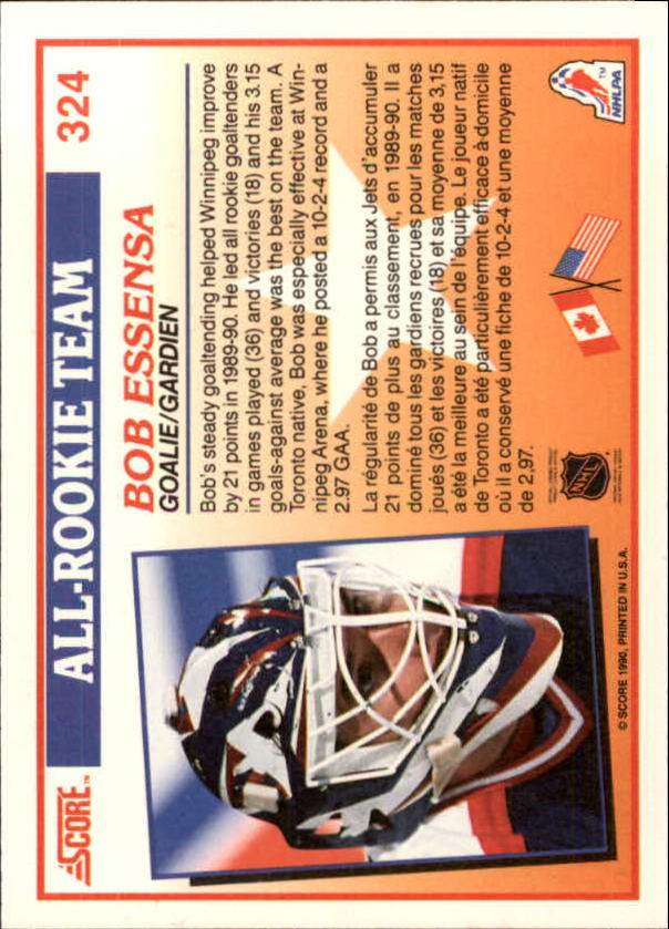 1990-91-Score-Canadian-Hockey-Cards-263-440-Pick-From-List miniature 123