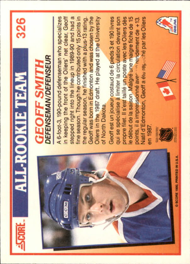 1990-91-Score-Canadian-Hockey-Cards-263-440-Pick-From-List miniature 127