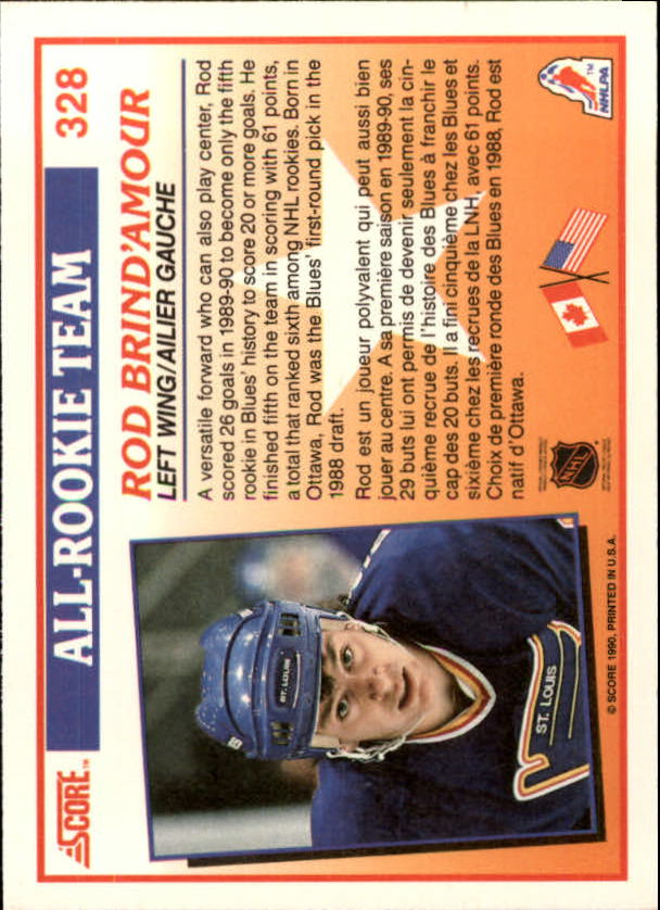 1990-91-Score-Canadian-Hockey-Cards-263-440-Pick-From-List miniature 129
