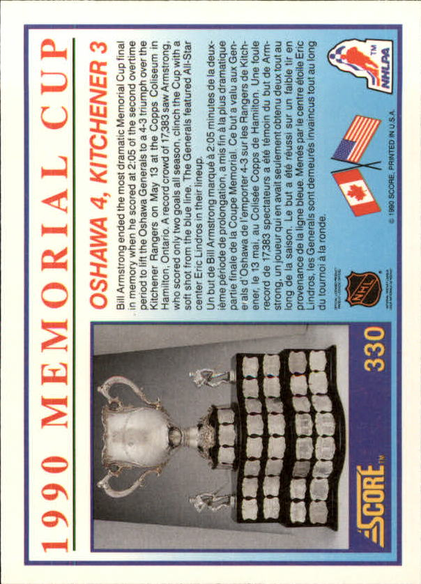 1990-91-Score-Canadian-Hockey-Cards-263-440-Pick-From-List miniature 133