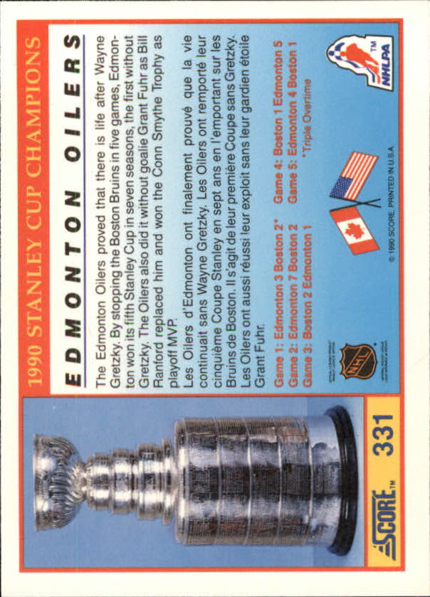 1990-91-Score-Canadian-Hockey-Cards-263-440-Pick-From-List miniature 135