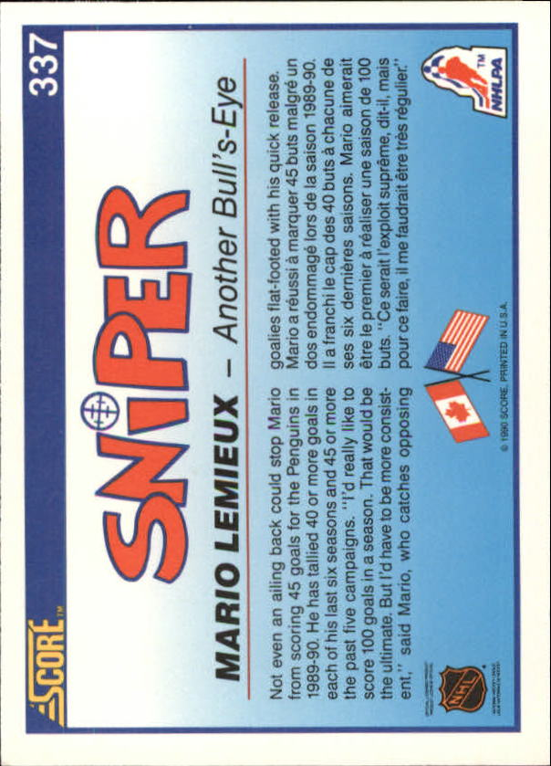 1990-91-Score-Canadian-Hockey-Cards-263-440-Pick-From-List miniature 147