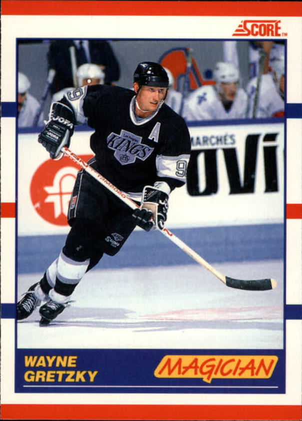 1990-91 Score Canadian #338 Wayne Gretzky Magic