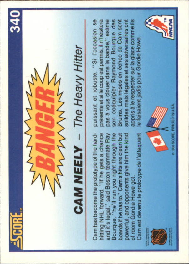 1990-91-Score-Canadian-Hockey-Cards-263-440-Pick-From-List miniature 153