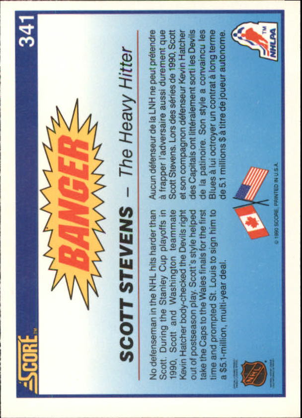1990-91-Score-Canadian-Hockey-Cards-263-440-Pick-From-List miniature 155