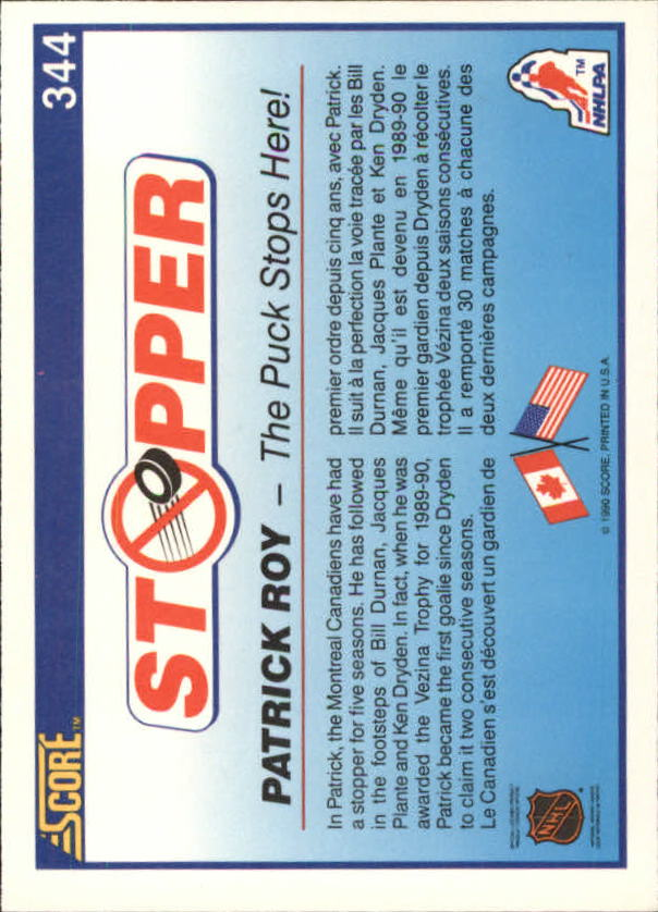 1990-91-Score-Canadian-Hockey-Cards-263-440-Pick-From-List miniature 161