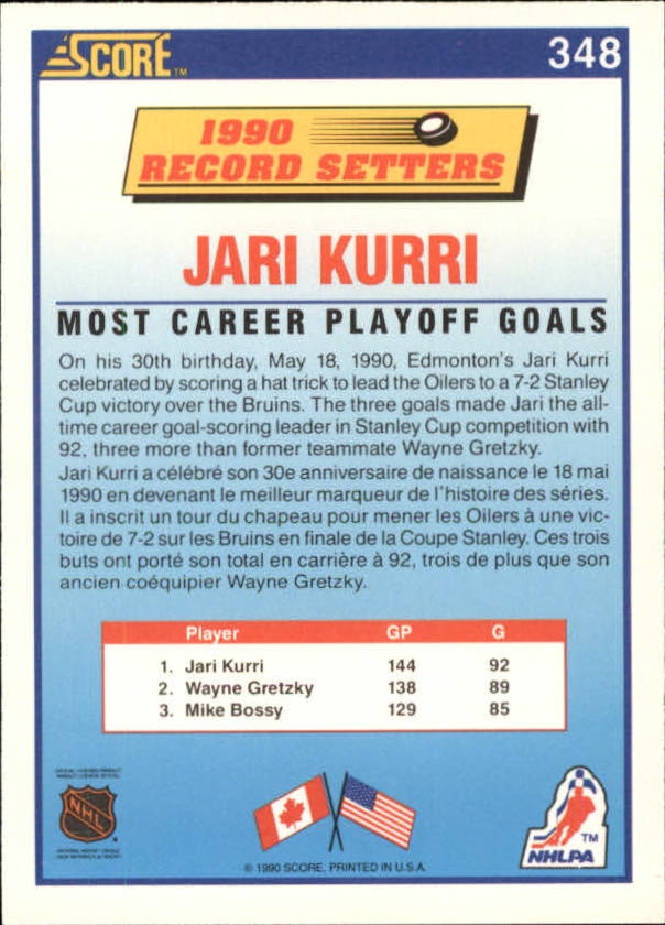 1990-91-Score-Canadian-Hockey-Cards-263-440-Pick-From-List miniature 169