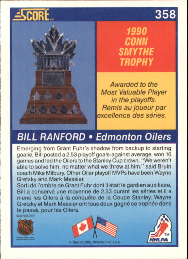 1990-91-Score-Canadian-Hockey-Cards-263-440-Pick-From-List miniature 185