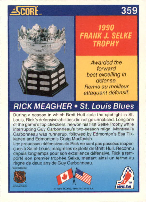1990-91-Score-Canadian-Hockey-Cards-263-440-Pick-From-List miniature 187