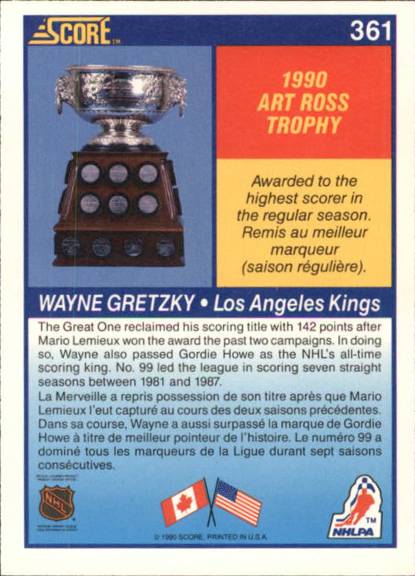 1990-91-Score-Canadian-Hockey-Cards-263-440-Pick-From-List miniature 191
