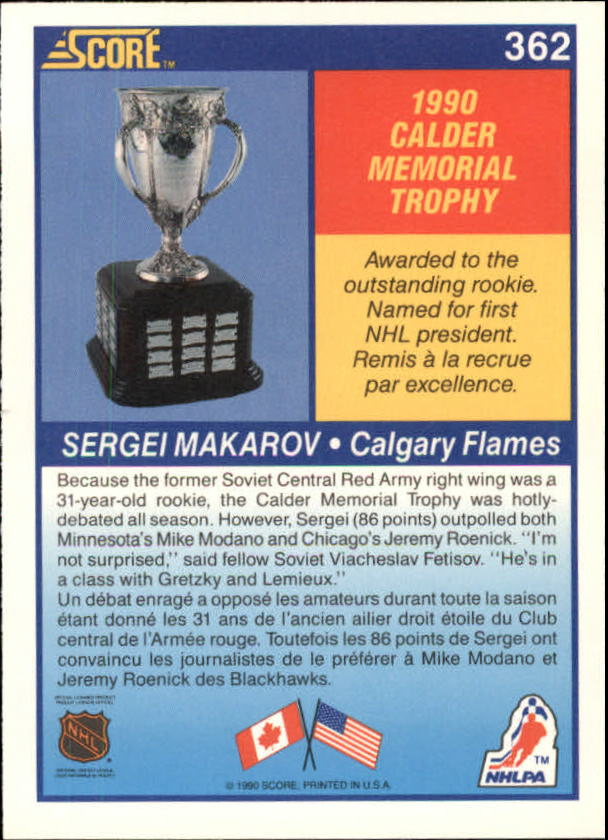 1990-91-Score-Canadian-Hockey-Cards-263-440-Pick-From-List miniature 193