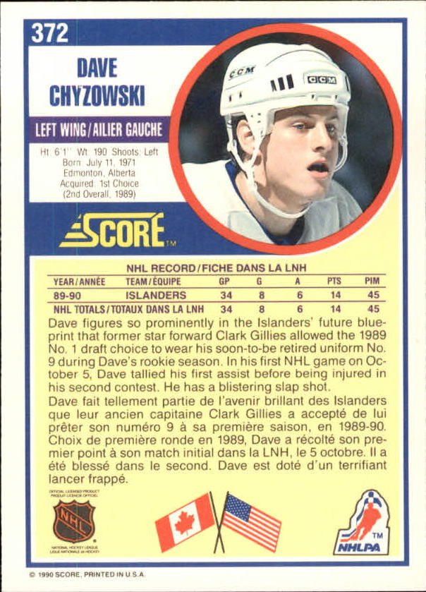 1990-91-Score-Canadian-Hockey-Cards-263-440-Pick-From-List miniature 211