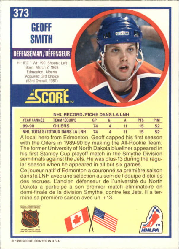 1990-91-Score-Canadian-Hockey-Cards-263-440-Pick-From-List miniature 213