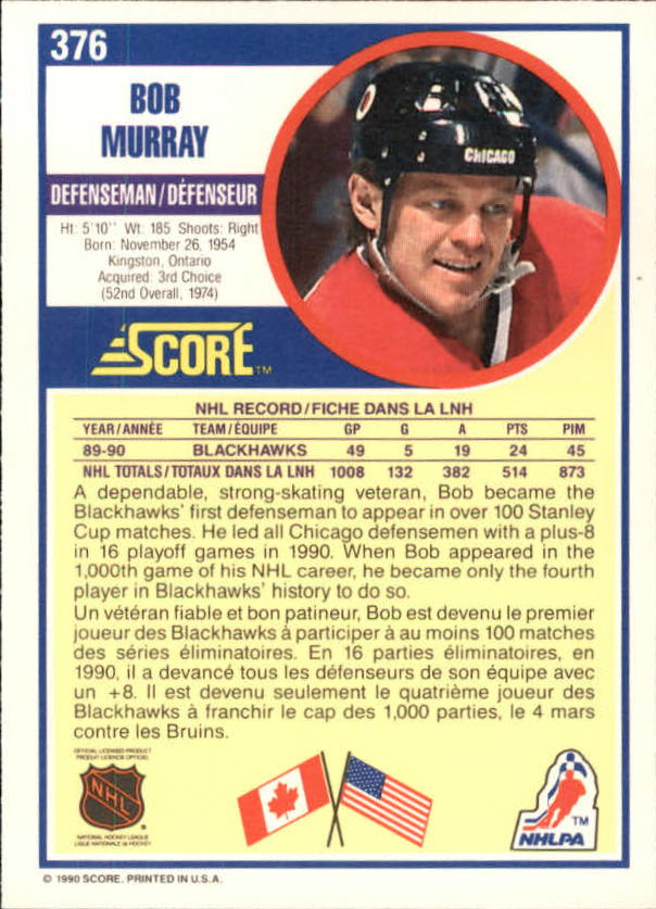 1990-91-Score-Canadian-Hockey-Cards-263-440-Pick-From-List miniature 219