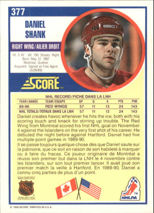 1990-91-Score-Canadian-Hockey-Cards-263-440-Pick-From-List miniature 221