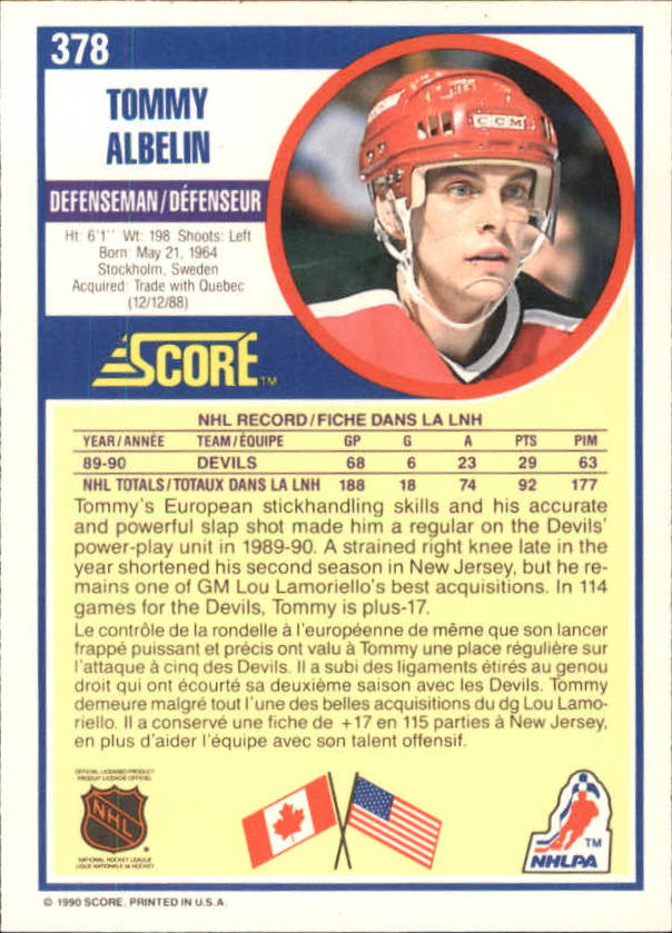 1990-91-Score-Canadian-Hockey-Cards-263-440-Pick-From-List miniature 223